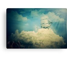 Air floating Canvas Print