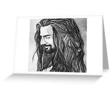 Thorin Oakensheild Greeting Card