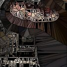 Man with a lightbub by Ashoka Chowta