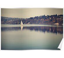 Vintage lake Poster