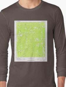 USGS TOPO Map Arkansas AR Pine Bluff NW 259395 1962 24000 Long Sleeve T-Shirt