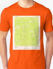 USGS TOPO Map Arkansas AR Pine Bluff NW 259395 1962 24000 Unisex T-Shirt