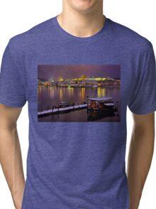 Winter nights in Prague Tri-blend T-Shirt