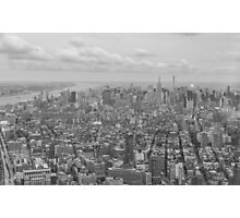 Manhattan From Above Photographic Print