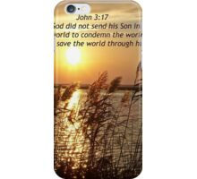 John 3:17 iPhone Case/Skin