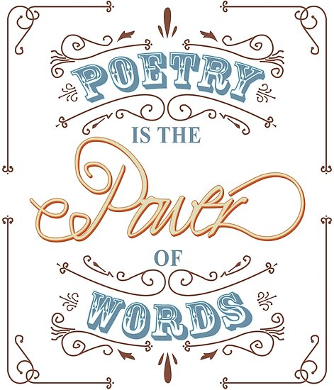 Poetry Is The Power Of Words by papabuju