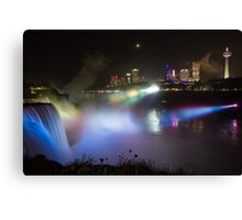 Niagara Falls @ Night Canvas Print