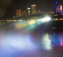 Niagara Falls @ Night Sticker