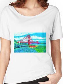 Golden Gate Bridge San Francisco Women's Relaxed Fit T-Shirt