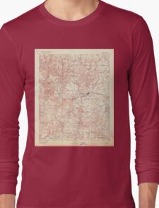 USGS TOPO Map Arkansas AR Batesville 260435 1891 125000 Long Sleeve T-Shirt