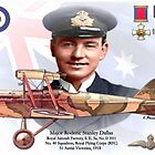 Major Roderic Stanley Dallas by AH-Aviation-Art