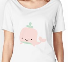 Whale PINK Women's Relaxed Fit T-Shirt