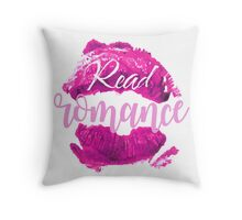 Read Romance Throw Pillow