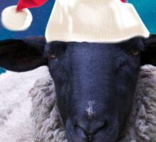 Happy Christmas To Ewe... Sticker