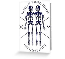 Bikers Family Greeting Card