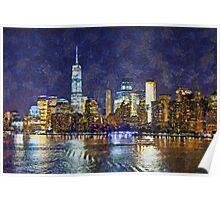 Leaving New York City Poster