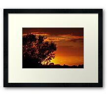 Savanna meets Lincolnshire Framed Print