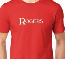 Rogers drums white Unisex T-Shirt