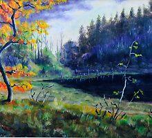 Autumn forest by MartinCapek