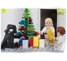 Skywalker Family Christmas Poster