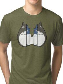 Totoro Russian Dolls Tri-blend T-Shirt