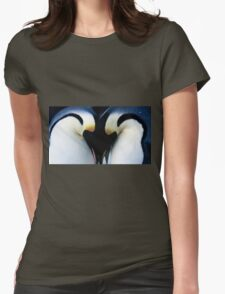 .penguin.winter. Womens Fitted T-Shirt