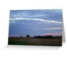 Lincolnshire Landscape Greeting Card