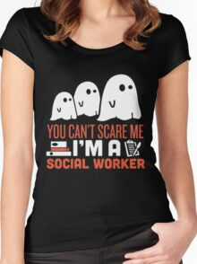 Halloween Gost SEARCH TYPE  SORT BY  Women's Fitted Scoop T-Shirt