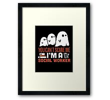 Halloween Gost SEARCH TYPE  SORT BY  Framed Print