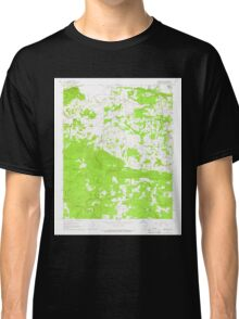 USGS TOPO Map Arkansas AR Jamestown 258823 1965 24000 Classic T-Shirt