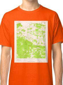 USGS TOPO Map Arkansas AR Jamestown 258823 1965 24000 Classic T-Shirt