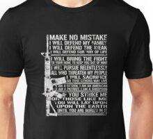AR15 Make No Mistake T Shirt - I Am The Sheepdog T Shirt Unisex T-Shirt