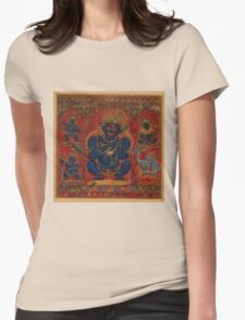 Mahakala as Lord of the Tent Womens Fitted T-Shirt
