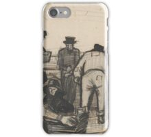 Peat Diggers in the Dunes The Hague,  Vincent van Gogh iPhone Case/Skin