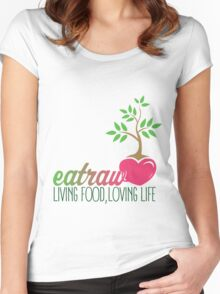 Raw Eating Women's Fitted Scoop T-Shirt