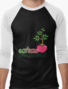 Raw Eating Men's Baseball ¾ T-Shirt
