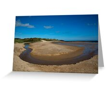 Embleton Bay Beach Greeting Card