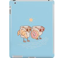 CUPS ON THE BEACH iPad Case/Skin