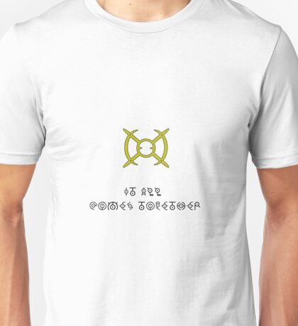 It all comes together - Arceus Sign Unisex T-Shirt