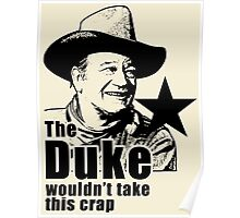 The Duke Searchers Red River Poster
