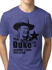 The Duke Searchers Red River Tri-blend T-Shirt