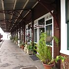 Railway Platform Historic Station at Gympie, Queensland. by Rita Blom
