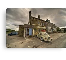 The Goathland Hotel  Canvas Print