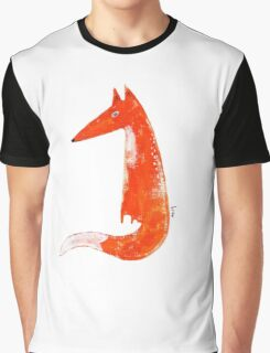Just a Fox Graphic T-Shirt