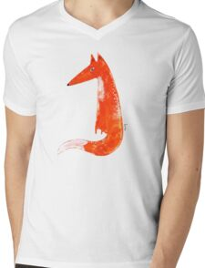 Just a Fox Mens V-Neck T-Shirt