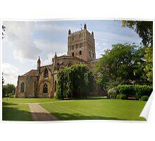 Twekesbury Abbey exterior Poster