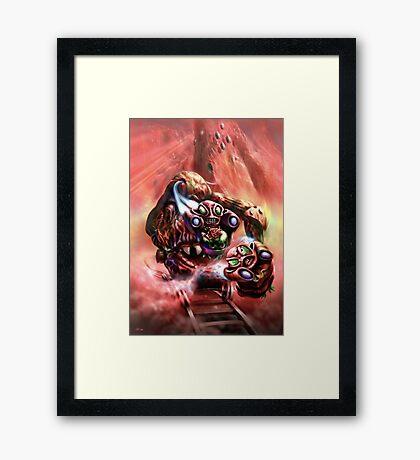 Gorgon and Zola Framed Print