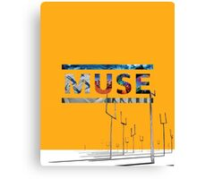 Muse Albums Logo Canvas Print
