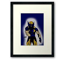 Wolverine Pose Framed Print