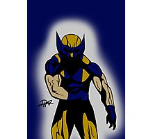 Wolverine Pose Photographic Print